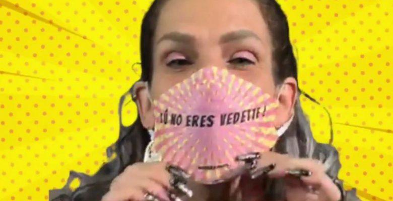 Niurka vende cubrebocas con sus frases más famosas