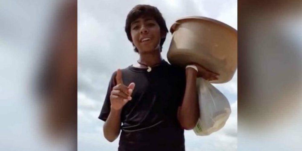 ¿Te acuerdas del niño que vendía empanadas? Esto fue de él