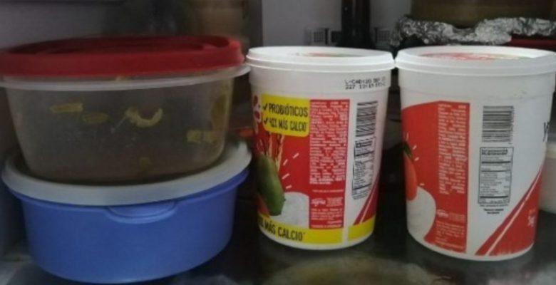 ¿Por qué no debes guardar la comida en botes de yogurt?