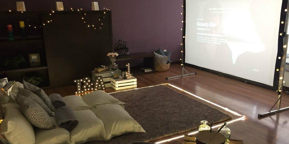 Ideas para crear tu propia sala de cine en casa
