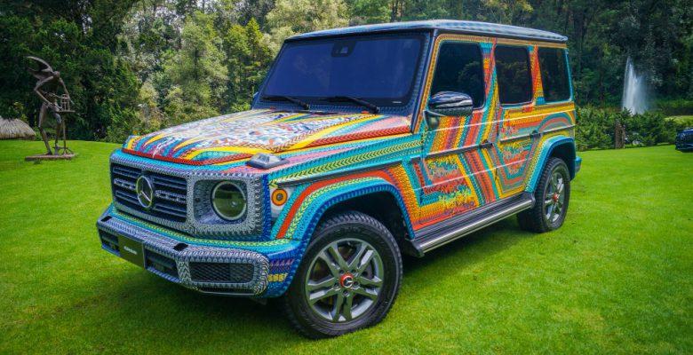 Artesanos oaxaqueños transforman la Mercedes Benz Clase G en un alebrije