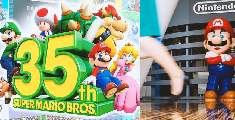 Esto es todo lo que Nintendo ofrecerá para el 35 aniversario de Mario Bros