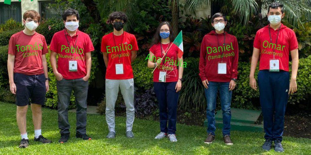 Mexicanos hacen historia en la Olimpiada Internacional de Matemáticas