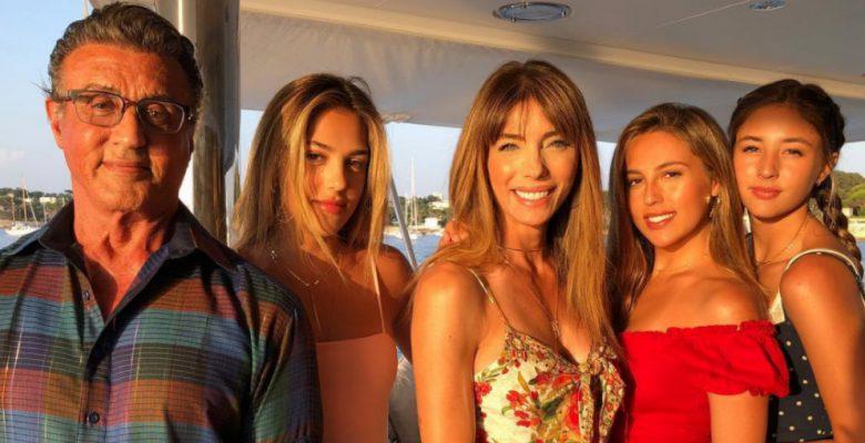 Las hijas de Sylvester Stallone que quizá no conocías