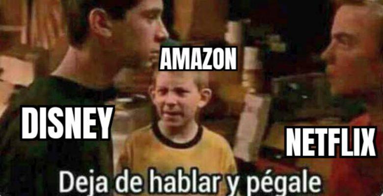 """Los memes de la """"amistad"""" entre Netflix y Disney+"""