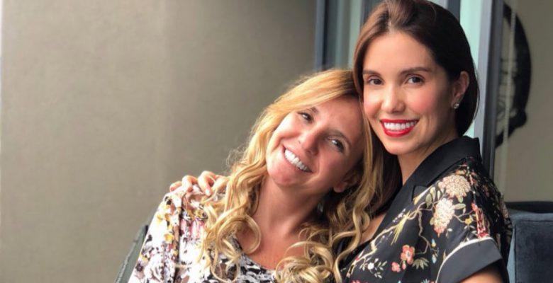 Andrea Escalona y su tía dan positivo a COVID-19