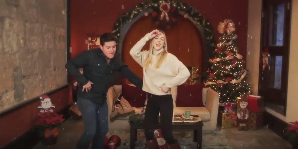 Samuel García y su esposa lanzan canción de Navidad; les llueven memes