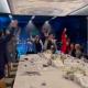 Pese al COVID-19, Salinas Pliego acude a fiesta de fin de año