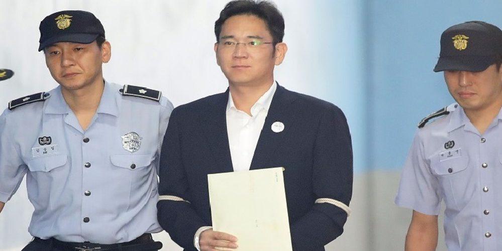 Mandan a prisión al heredero de Samsung por corrupción