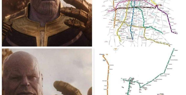 Los memes de la Ciudad de México sin metro