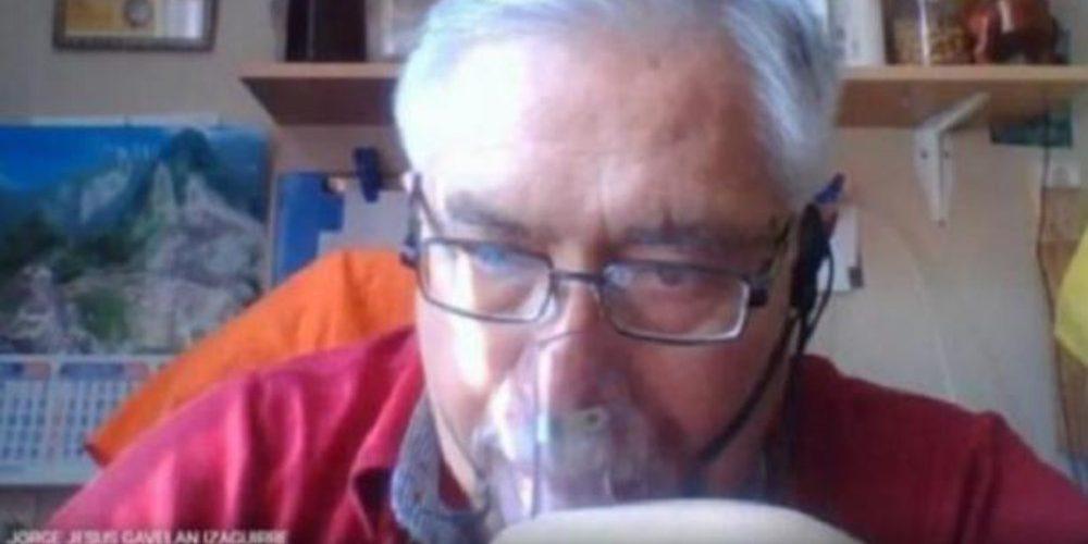 Fallece el profesor que daba clases conectado a un tanque de oxígeno