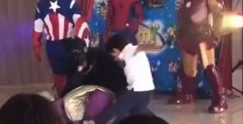 James Gunn reacciona al video de niño mexicano pateando a Thanos