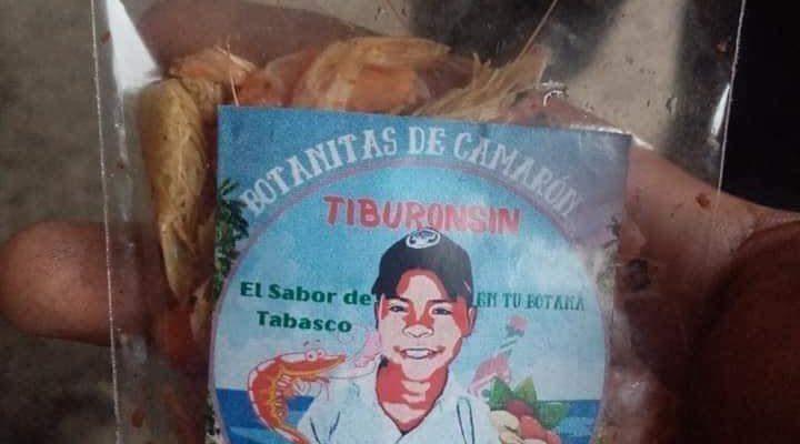 Niño tabasqueño usa sus ahorros para crear su propia marca de botanas