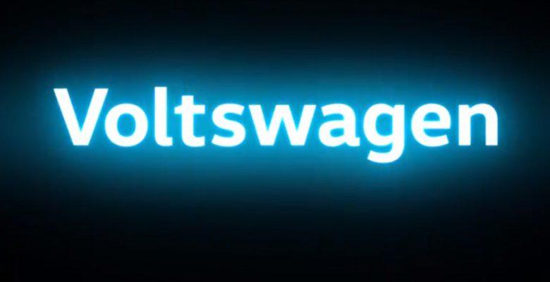 'Volkswagen' anuncia que se cambiará el nombre a 'Voltswagen'