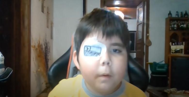 Niño con cáncer sueña con ser youtuber y usuarios se unen para apoyarlo