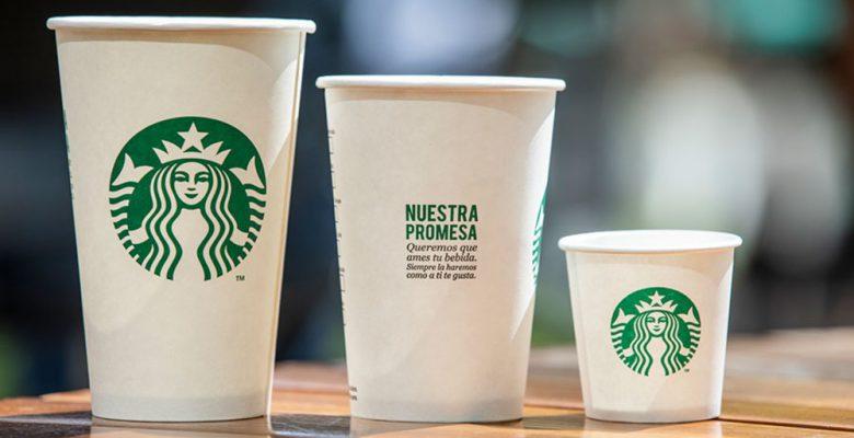 Para no contaminar, Starbucks cobrará un depósito por tazas retornables