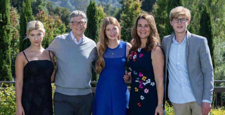 Ellos son los hijos de Bill y Melinda Gates