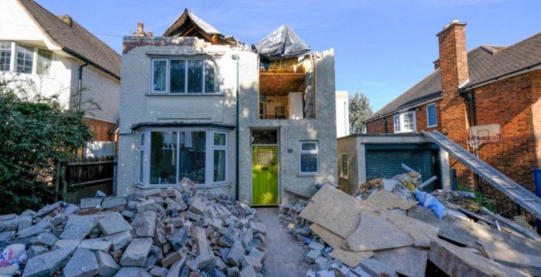 Albañil destruye casa que había remodelado porque no le pagaron