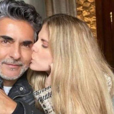 Ella es Margarita, la nueva novia de Raúl Araiza