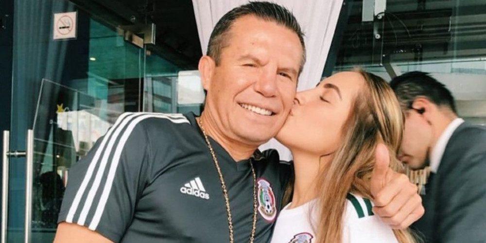 Ella es Nicole, la hija menor de Julio César Chávez
