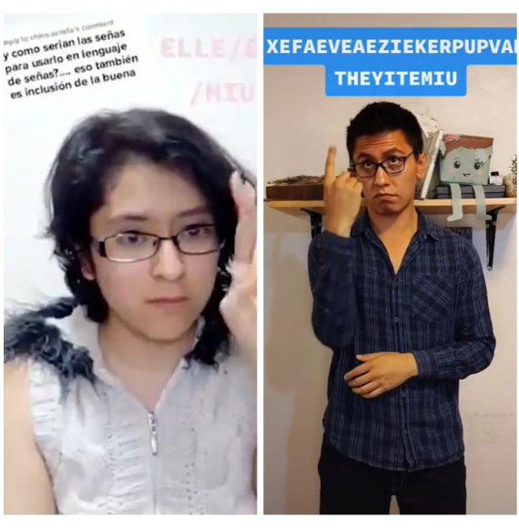 Intérprete de LSM reclama a Andra por modificar la lengua de señas