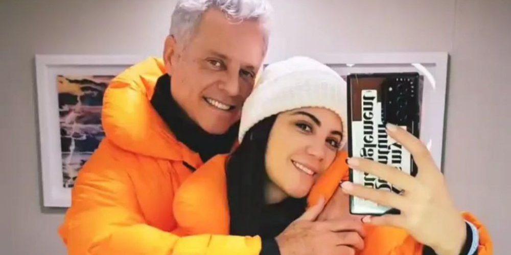 Ella es Cinthia, la joven novia de Alexis Ayala