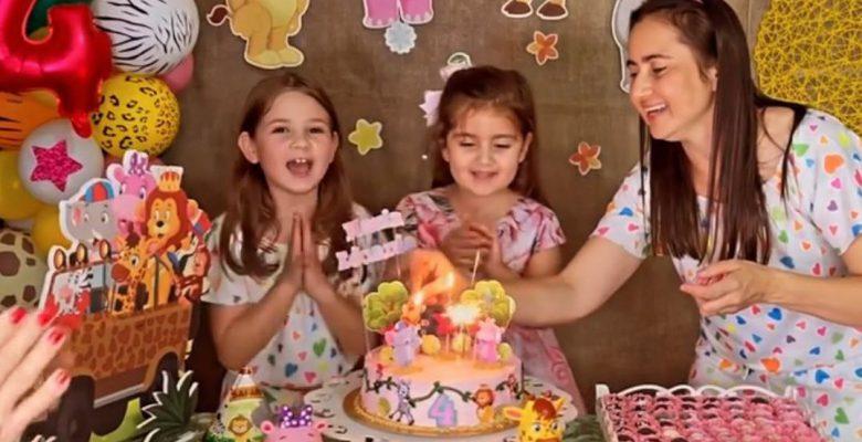 Las niñas del pastel reaparecen para celebrar otro cumpleaños