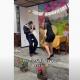 """""""Por infiel"""", hombre recibe pastelazo en fiesta de cumpleaños"""